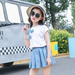 1003510 Kids Girl Top + Skirt 2pc Set