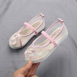 6000232 CNY Kids Girl Embroidery Shoes