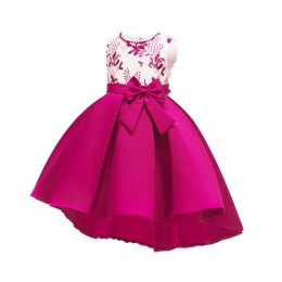 1003718 Kids Girl Swallotail Dress