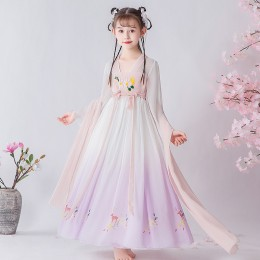 [Pre-Order] 051 Premium CNY Kids Girl Dress