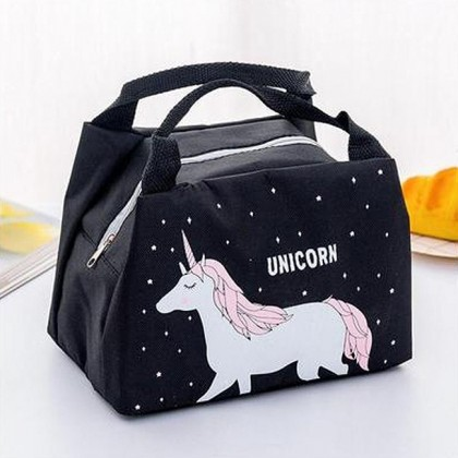 GR006 Cartoon Lunch Bag Unicorn Bag