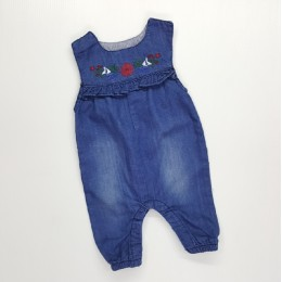 Girl (S) Denim Overall