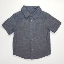 Kids Smart Casual Shirt Grey