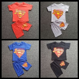 Superman Short Sleeve T-shirt Set