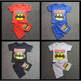 Batman Short Sleeve T-shirt Set