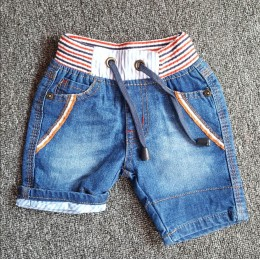 Casual Smart Denim Short (L.Blue)