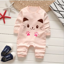 Baby Romper (Orange cutie cat)