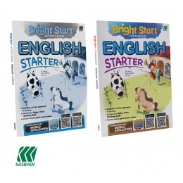 SASBADI Bright Start English Starter 3D Education