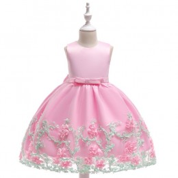 [Pre-order] Kids Girl Flowery Princess Dress