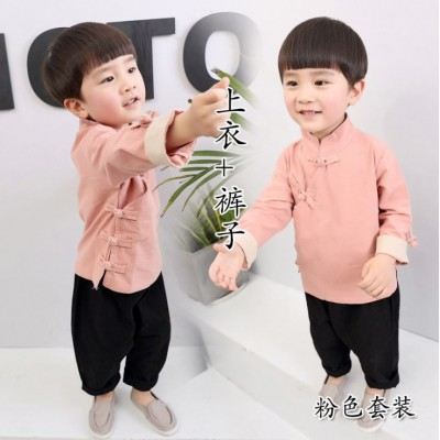 [CNY2019 Pre-Order] Girls & Boys Chinese Hanfu Set