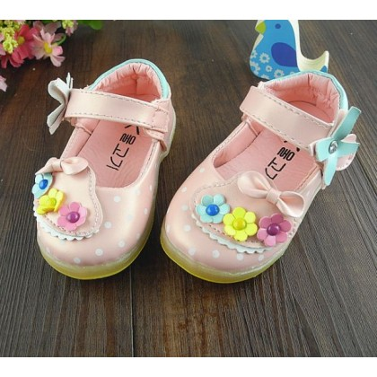 Baby Girl Flowery Shoes