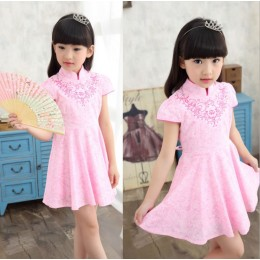 [READY STOCK] Kids Girl Jing Xiu Cheongsam Dress