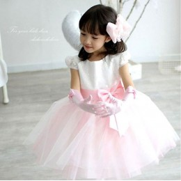 ANGELA Kids Girl Princess Dress Party Dress Wedding Dress Birthday Dress