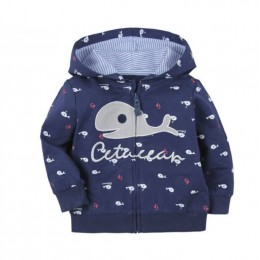 Boy Jacket - Cute Whale