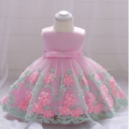 PETUNIAS Baby GIrl Princess Dress Party Dress Wedding Dress Birthday Dress Flower Girl Dress