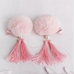 Kids Girl CNY Hair Clip - Fluffy