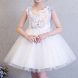 Hydrangea Kids Girl New Year Dress