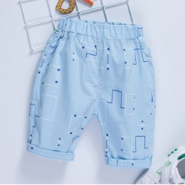 Kids Boy Cotton Cropped Pant