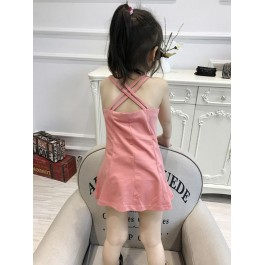 Kids Girl Crossback Cotton Dress