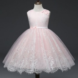 [Pre-Order] Anne Lace Kids Girl Princess Dress Party Dress Wedding Dress Birthday Dress