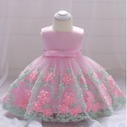 [Pre-Order] PETUNIAS Baby GIrl Princess Dress Party Dress Wedding Dress Birthday Dress Flower Girl Dress