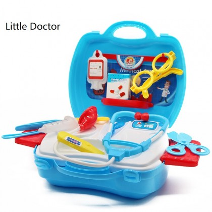 Kids Toy Box Suitcase Tools Set Role Play Simulation Game