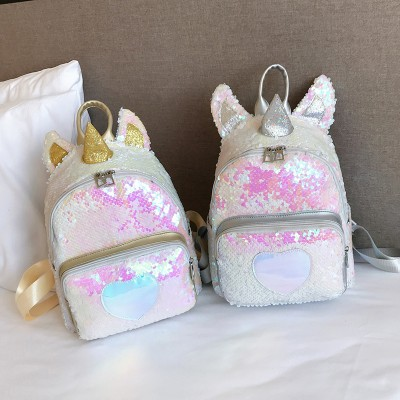 Unicorn Sequins Bling Bling Backpack Bag