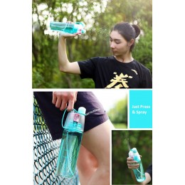 Outdoor Sport Spray Water Bottle (600ml)