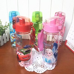 Kids Cartoon Water Bottle (550ml)
