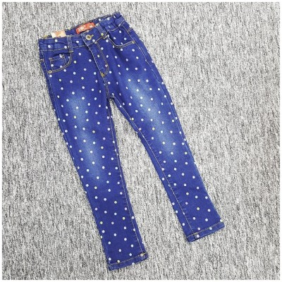 Kids Girl Candy Long Jeans Pant