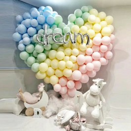 Macaroon Colour Latex Balloon