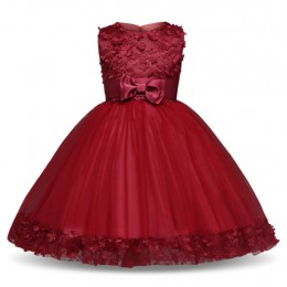 [Pre-Order] Geranium Kids Girl Wedding Dress Party Dress Birthday Dress