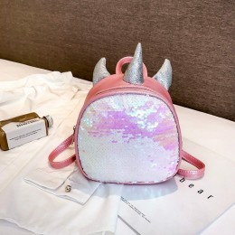 Unicorn Sequins Bling Bling Small Backpack Bag