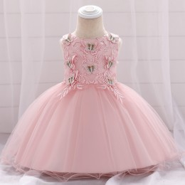 BUTTERFLY Baby GIrl Princess Dress Party Dress Wedding Dress Birthday Dress