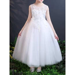 [Pre-order] Julia Kids Girl Dress Princess Dress Party Dress Wedding Dress Birthday Dress Long Gown