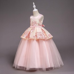 [Pre-order] Tulip Kids Girl Dress Princess Dress Party Dress Wedding Dress Birthday Dress Long Gown