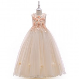 [Pre-order] Ginger Kids Girl Dress Princess Dress Party Dress Wedding Dress Birthday Dress Long Gown