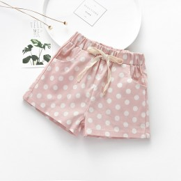 Kids Girl Cotton Pokka Dot Pant