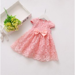Baby Toddler Ribbon Lace Dress