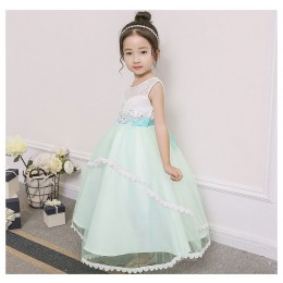 [Pre-order] Mollis Kids Girl Dress Princess Dress Party Dress Wedding Dress Birthday Dress