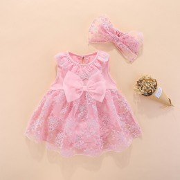 Baby Girl Lace Dress +  Headband