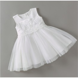 Snow Baby Girl White Dress Princess Dress Party Dress Wedding Dress Birthday Dress Flower Girl Dress