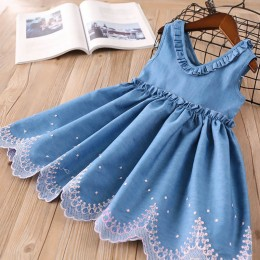 Kids Girl Soft Jeans Dress