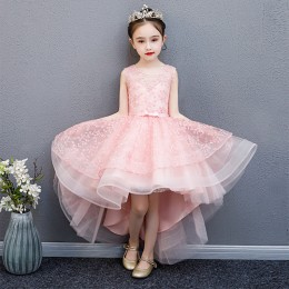 [Pre-order] Jasmeen Kids Girl Dress Princess Dress Party Dress Wedding Dress Birthday Dress Swallowtail Gown