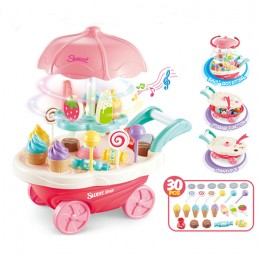 Kids Game Toy Ice-cream Cart