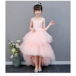 [Pre-order] 8205082 Adelaide Kids Girl Dress Princess Dress Party Dress Wedding Dress Birthday Dress Swallowtail Gown