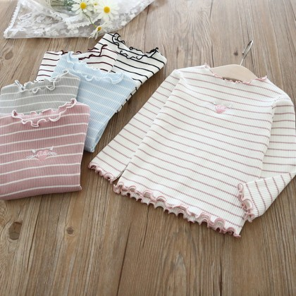 8002181 [Pre-order] Kids Girl Long Sleeve Top