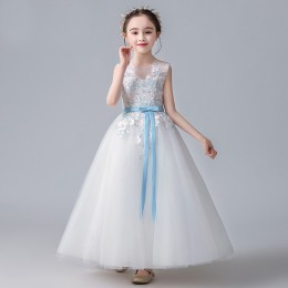 [Pre-order] 8000804 Bojana Kids Girl Party Dress Birthday Dress Flower Girl Dress Princess Dress Long Dress