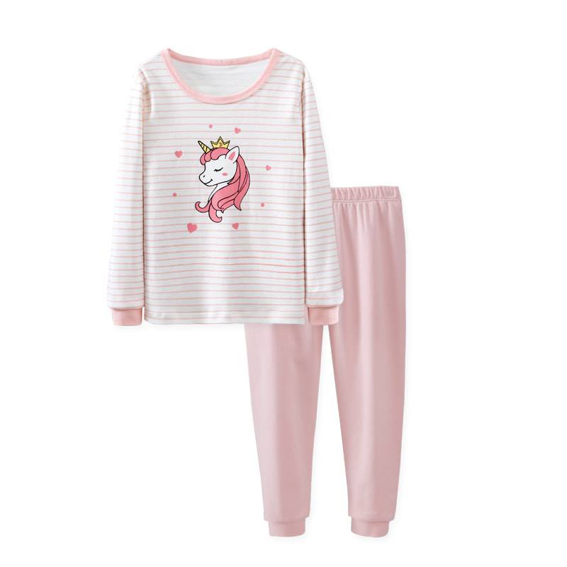 [Pre-order] FC025 Kids Girls Unicorn Pyjamas Set