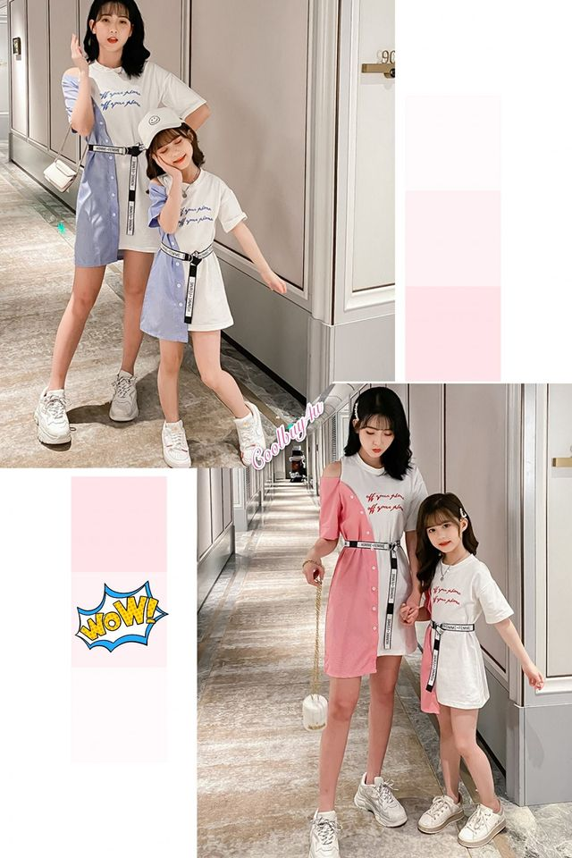 1005573 Mum and kids Dress